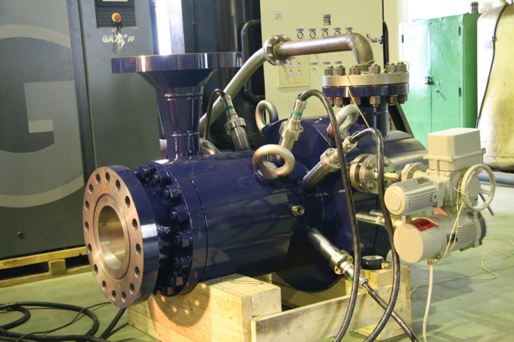 расширение газов в турбодетандерах
