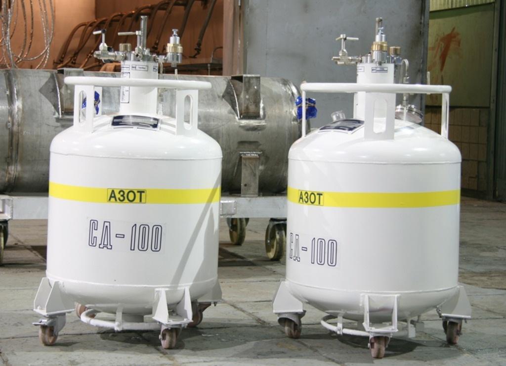 хранение сжиженных газов