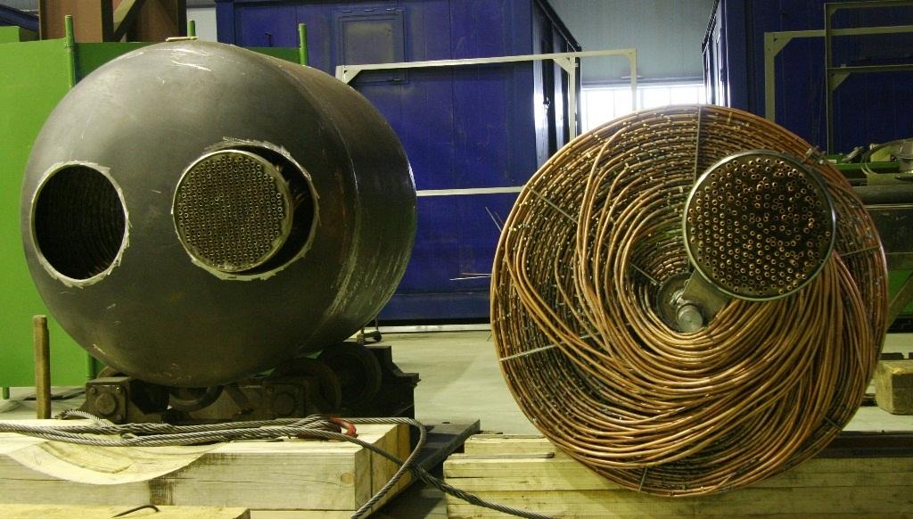 Кожухотрубный испаритель ONDA HPE 98 Северск